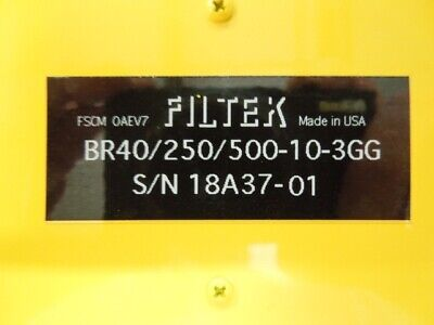 Tunable Bandreject Filter Filtek Br40250500-10-3gg 250 To 500 Mhz 10mhz Bw
