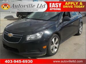 2011 CHEVROLET CRUZE LTZ LEATHER HEATED SEATS SUNROOF