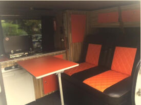 Vauxhall Vivaro 4 Berth Campervan - pop top