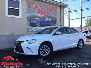 2016 Toyota Camry LE - BACKUP CAM - BLUETOOTH - FACTORY WARRANTY
