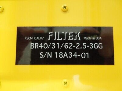 Tunable Bandreject Filter Filtek Br403162-2.5-3gg 31 To 62mhz 2.5mhz Bw