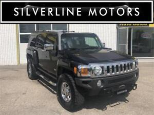 2006 HUMMER H3, LEATHER, CHROME PACKAGE, CLEAN TITLE, SAFETIED!