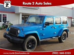 2014 Jeep Wrangler Unlimited Sahara Altitude