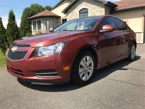 2012 Chevrolet Cruze LT turbo Bluetooth Groupe électriques