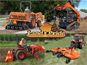 Special Landpride Implements Financing