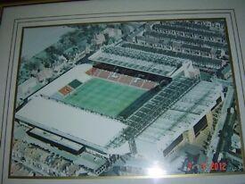Liverpool's Anfield stadium print