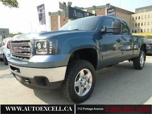 "2013 GMC Sierra 2500HD SLE 4WD Crew Cab 153"" LEATHER MOON ROOF"