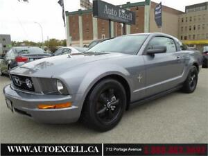2007 Ford Mustang 2dr Cpe RWD V6 4.0L ALLOYS A/C CRUISE CONTROL