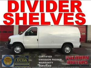 2012 FORD E-250 DIVIDER SHELVES