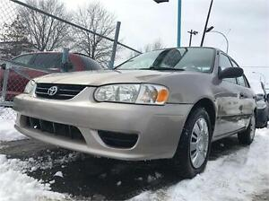 2002 TOYOTA COROLLA AUTOMATIC 89000KM AC EXTRA PROPRE