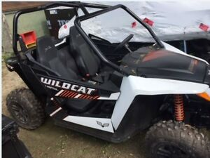 2018 Textron Off Road Formally Arctic Cat New Wildcat Trail XT E