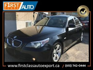 2006 BMW 5 Series 525i - Navigation - Fully Loaded - DVD Player