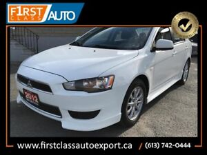 2012 Mitsubishi Lancer - Heated Seats - Great On Gas!