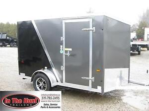 2017 Ameralite  6x10 Enclosed with rear ramp