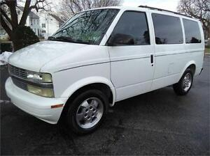 2005 Chevrolet Astro 8 Passenger, Certifed & E-tested, Low KM!!!