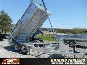 IN STOCK NOW! K TRAIL GALVANIZED DUMP TRAILERS