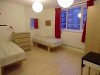 VAUXHALL - STUNNING TWIN ROOM AVAILABLE - £100 OFF AND GET FIRST WEEK RENT FOR FREE!!!