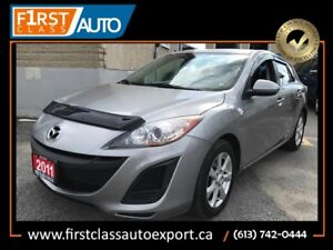 2011 Mazda Mazda3 - ONE OWNER! - Great On Gas - Nice Car