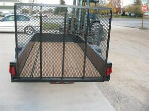 5X10 Utility Trailer with Steel Sides only 3 left London Ontario image 2