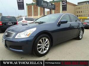 2009 INFINITI G37x LUXURY AWD ALLOYS LEATHER SUNROOF