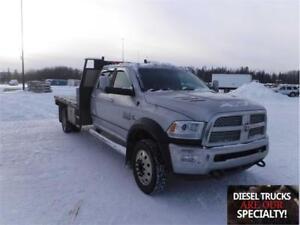 2014 Dodge Ram 5500 Laramie Crew Cab Flat Deck Diesel