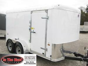 6X12 US Cargo Enclosed Trailer Tandem axle