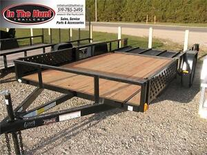 6.5X14 with ATV Ramp sides and Rear Ramp London Ontario image 1