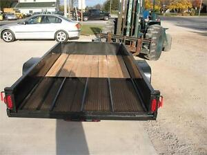 5X10 Utility Trailer with Steel Sides only 3 left London Ontario image 4