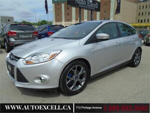 2013 Ford Focus SE 5dr HB 4CYL 2.0L HEATED SEATS LEATHER
