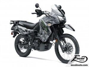 2018 KAWASAKI KLR650 CAMO GRIS
