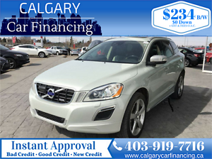 2012 Volvo XC60 T6 R-Design *No Accidents, Leather Interior, Blu