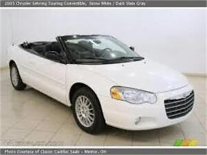 2005 Chrysler Sebring Convertible-Low km-Showroom condition