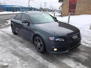 2009 AUDI A4, AUTOMATIQUE, 4 CYLINDRES, XENON, CUIR, TOIT, MAGS