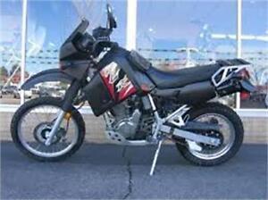 Kawasaki KLR650 double usage