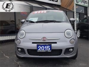 2015 FIAT 500 SPORT/BLUETOOTH/SPORT MODE BUTTON!!