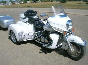 2004 Yamaha Venture Trike conversion (Hannigan kit)with Trailer