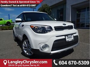 2017 Kia Soul EX W/SAFETY REAR CAMERA & HEATED SEATS