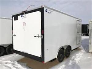 New 2016 8x16 Enclosed Cargo with 2x3500lb axles
