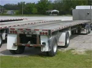 Used Flatbed Trailers - Lease From $439.00 Per Month