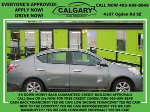 2012 Nissan Versa 1.6 SL *$28 DOWN  EVERYONE APPROVED*