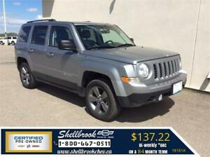 2015 Jeep Patriot- LOW KM, 4X4, LEATHER - $137.22BW!