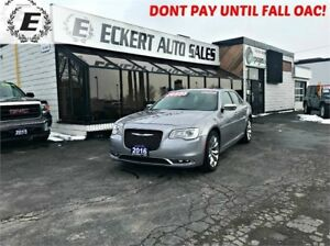 2016 CHRYSLER 300 C WITH NAV/LEATHER/SUNROOF
