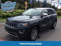 2014 Jeep Grand Cherokee Limited 4x4 w/ Leather, Sunroof, Nav Re