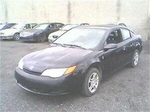2004 SATURN ION COUPE SPORT 1680$ TPS-TAXE INCLUS 514-817-0095