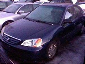 2002 HONDA CIVIC DX  AUBAINE 2480$ TPS-TAXE INC 514-817-0095