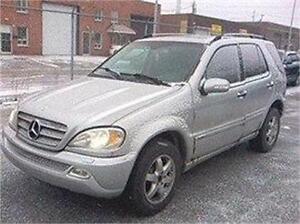 2005 MERCEDES ML 500 4MATIC AWD AUBAINE 6980$ 514-817-0095
