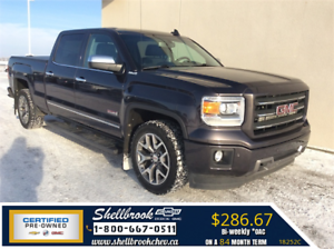 2015 GMC Sierra 1500 SLT-NAV,HEATED SEATS - $286.67BW!