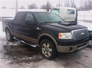 2006 FORD F150 KING RANCH 4X4 4980$ FINANCEMENT MAISON 100% APPR