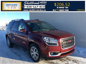 2016 GMC Acadia SLT-HEATED SEATS, TRAILERING PKG - $206.52BW!