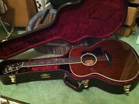 Taylor 528e All mahogany stunning acoustic electric New Andy powers designed model!!